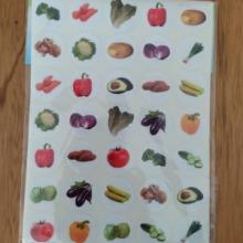 חבילת מדבקות ירקות קטן