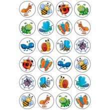 חבילת מדבקות אביב חרקים