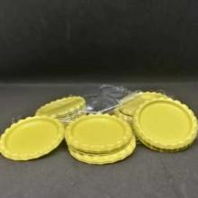 10 פקקים צבע צהוב
