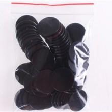 """20 דסקיות קוטר 2.5 ס""""מ צבע שחור"""