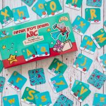 משחק זיכרון אנגלית ABC