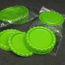 10 פקקים צבע ירוק בהיר