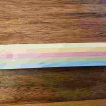 פסי שרשרת קישוט לסוכה צבעי פסטל