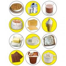 חבילת מדבקות שבועות מוצרי חלב