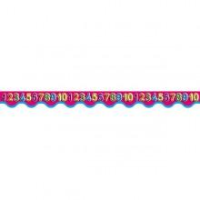 18 פסי קישוט מספרים