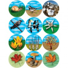 חבילת מדבקות סמלי הסתיו