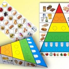 יצירה פירמידת המזון