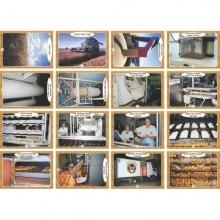 ערכת תמונות תהליך ייצור הלחם
