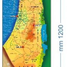 שמשונית מפת ארץ ישראל