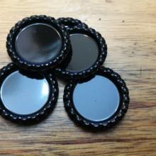 10 פקקים צבע שחור