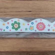18 פסי קישוט פרחים