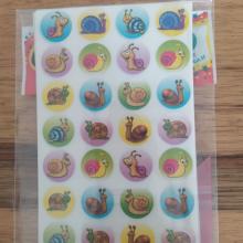 חבילת מדבקות חלזונות