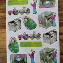 חבילת מדבקות הבית של יעל