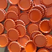 10 פקקים צבע כתום