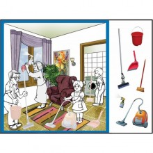 פסח-ניקיון הבית-עבודת יצירה