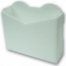 כיסי פוליגל קטן צבע לבן