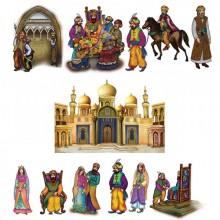 מגזרות גדולות ללוח פורים ארמון+דמויות