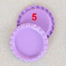10 פקקים צבע סגול לילך