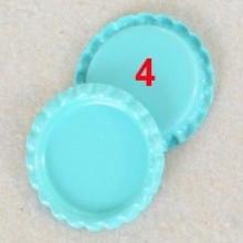 10 פקקים צבע תכלת טורקיז
