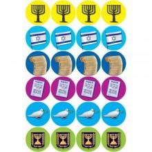 חבילת מדבקות סמלי מדינת ישראל