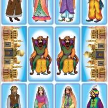 חבילת מדבקות דמויות המגילה לפורים