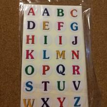 מדבקות A-B-C חבילה שלמה!