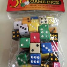 50 קוביות משחק
