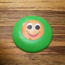 צלחת מעופפת קטנה - צבע ירוק