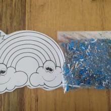 יצירה קשת בענן עם סול גרוס