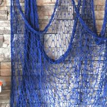 רשת דייגים לקישוט צבע כחול